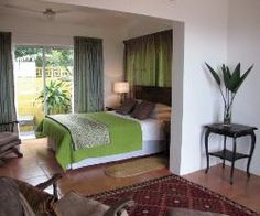 Room one at Yengele Paradise Boutique Beach Lodge. Self catering romantic escape.