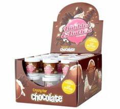 Bubbles & Butters brand Crazy for Chocolate Lip Butter (Σοκολάτα)   Προϊόντα Χειλιών   #Glowbox #GLOWBOXeshop Greece