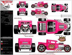 hot wheels boneshaker diagram