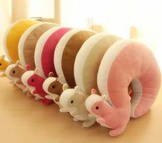 Squirrel pillows. Do you like interesting design? Go to: http://designersko.pl  #pillow #animals #squirrel