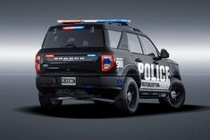 New Bronco, Ford Bronco, Police Lights, Chrome Wheels, Design Language, Ford Explorer, Custom Trucks, Police Cars