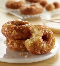 Fresh fried Apple Cider Donuts that you can make in the comfort of your own home.