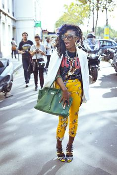 Prisca fr Paris ~ Fashion Bombshell of the Day