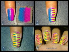 Gradient nails obsessed!  I'm doing it! When I get nails...:(