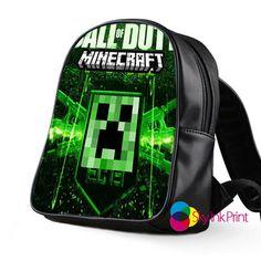 New Minecraft Call Of Duty School Bag