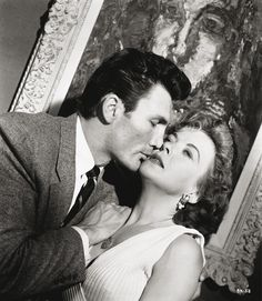 Ida Lupino and Jack Palance in The Big Knife (1955)