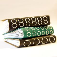 Venetian-style journal with decorative binding by Owl and Lion