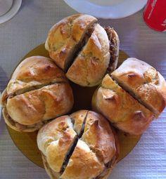 LOCAIS HABITUAIS: Sabe bem Pretzel Bites, Baked Potato, Potatoes, Bread, Baking, Vegetables, Ethnic Recipes, Food, Places