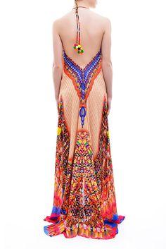 Designer Dresses   One Shoulder Dress   Maxi Dress Shahida Parides