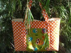 ! SEW PRIM KHRIS !: Tote Bag Tutorial/Free PDF Pattern