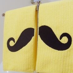 "6"" x 19"" (41x48cm) Hand towels are 100% polyester, 200% fun, and are amazingly absorbent - how cute are these?!"