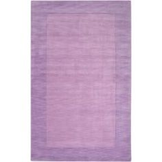 Hand Crafted Purple Emeto Wool Rug (5u0027 ...