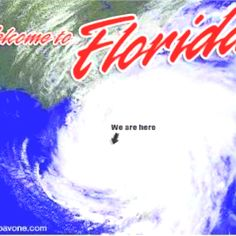 Unfortunately along with the beauty of the State...there is the danger of Hurricanes!!