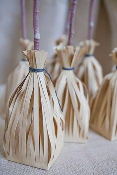 Fantasia - sorcerer's apprentice broom treat bags