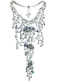 A SCINTILLATING FISH NECKLACE by chopard, high jewelerry