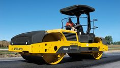 Volvo DD120 Large asphalt - Specifications