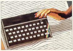 On instagram by computerloverecords #zxspectrum #microhobbit (o) http://ift.tt/1OO77b6 #illustration #artwork #electronics #computer #keyboard  #vintage