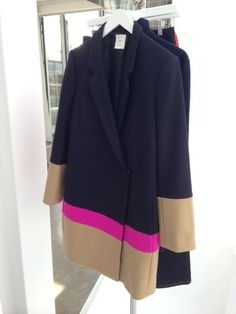 Gap Color-Blocked Coat Fall 2013