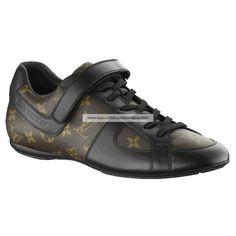 Louis Vuitton Globe Trotter Sneaker In Monogram Macassar Canvas YQ4U1PMO BUU