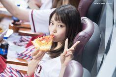 Jooeun and Pizza
