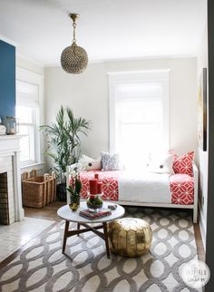 Guest Room via Inspired by Charm