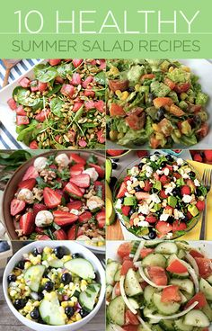 From afternoon barbeques to dinner parties and romantic backyard meals, the summer salad is essential. #BiggestLoser