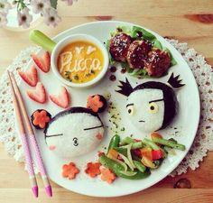 Food art ♡ ♡