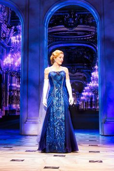 Image result for anastasia dress broadway blue