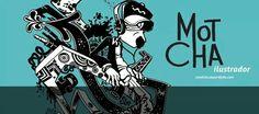Motcha illustrator - hip-hop style