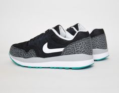 #Nike Air Safari Elephant Black #sneakers