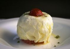 La Madia chef Pino Cuttaia - mozzarella.