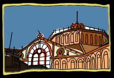 Mercat de Sant Antoni à Barcelone