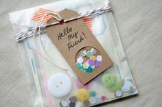 Confetti Gift Tag by @Ashley Connelly w/The Creative Place ... The perfect embellishment for any Mini Album!! :)