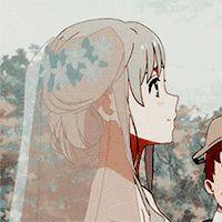 anime metadinha | Tumblr Cartoon Profile Pics, Anime Profile, Anime Love Couple, Cute Anime Couples, Anime Friendship, Icon Gif, Anime Tumblr, Matching Profile Pictures, Avatar Couple