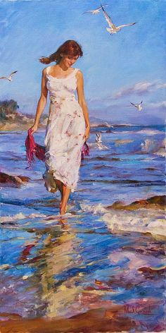 The Garmash's incredible talent is only matched by their love and career stories. Michael and Inessa won several International awards for their portrait work and are considered to be one of the most important figurative artists working on the US market.