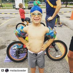 What an exciting day for Chaz!! It's his kids triathlon.   Go go Chaz!  #fitdad #triathlon #papillion #fitson #fitfamily #swim #bike #run #tri #swimbikerun #active #altrarunning #inspiration #PhotoOfTheDay #happy #runner #family #stronger #kid