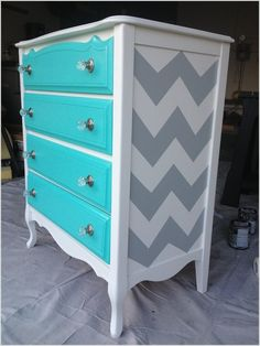 10 Ways to Give a Makeover to a Chest of Drawers 8