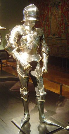 ca. 1484 - armour for Archduke Sigismund von Tirol (Lorenz Helmschmid), Augsburg, Kunsthistorisches Museum Wien, Austria