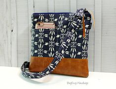 Hipster Messenger Sling Bag Is a small fun casual bag that is perfect for jotting to the store, A shopping trip out with the girls, a day at an amusement park,or farmers market. Great for holding iPad mini, kindle and other tablets (check your device for measurements.) or just about anything