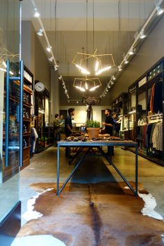 A New Tanner Goods Boutique Only The Second One Outside Of Portland Has Opened Ace Hotelcowhide Rugscenter