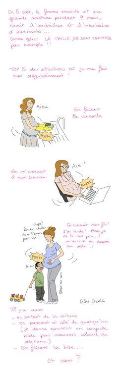 #humour #grossesse BD Kopines