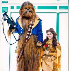 Belleba Fett: Beauty And The Wookiee [Cosplay]