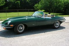 Racing green E-type