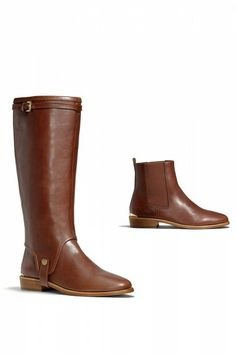 10 coach boots for fall: leona boot by coach. -- two in one boots/booties! i want