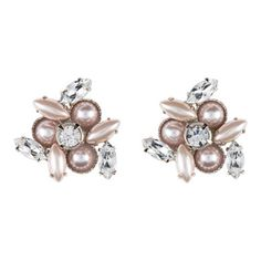 Miu Miu - Earrings with Swarovski© stones and pearls - $450.00