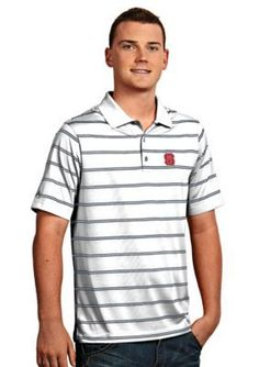 Antigua  NC State Wolfpack Deluxe Polo