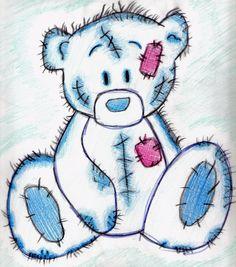 New Toys Bear Drawing 54 Ideas Teddy Bear Sketch, Teddy Bear Drawing, Teddy Bear Tattoos, Teddy Beer, Bear Paintings, Teddy Bear Pictures, Bear Illustration, Art Illustrations, Gothic Dolls