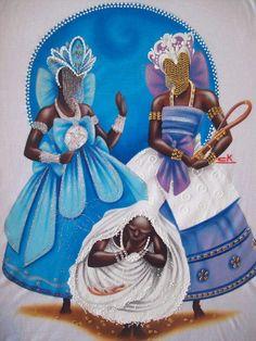 Yemaya & Nana Barúku ,Obatalá Claudia Krindges