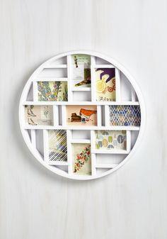 Round Here Frame in White - White, Dorm Decor, Urban, Graduation, Best Seller, Best Seller, Better, WPI, Good, 4th of July Sale, Fall, Gals, Gifts2015, Wedding