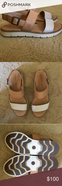 Timberland sensorflex sandals Cute and girly timberland sandals! Great quality shoes only worn a few times (: Timberland Shoes Sandals